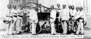 hasiči 1913